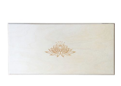 The Original Perch Lotus Engraved